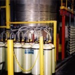 Multi-bank portable Deionization tanks for Chemical Manufacturing